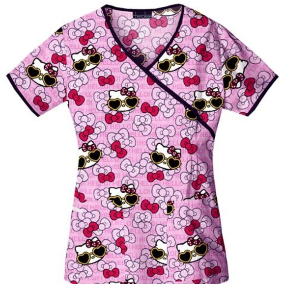 d1dcb91c0 Tops | Hello Kitty Nursing Scrub Top | Poshmark
